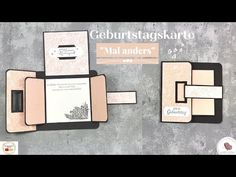 "Geburtstagskarte ""Mal anders"" 