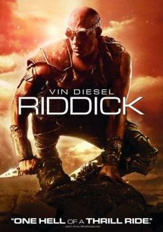 Riddick (4 stars) Vin Diesel picks up the mantle as Riddick for a third outing. He plays the character as if it were a second skin with seemingly little effort. I didn't really care for Pitch Black much; The Chronicles of Riddick didn't make much sense. This is the best of the three. Bounty hunters after an escaped convict. Convict is smarter than the average bounty hunter. Good special effects and an unclothed Katee Sackhoff... how can you go wrong?