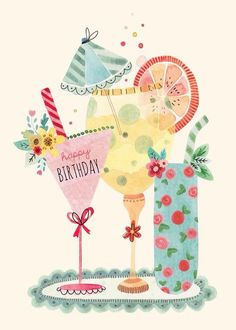 Birthday cards - felicity french illustration birthday quotes с днем рожден Happy Birthday Messages, Happy Birthday Images, Happy Birthday Greetings, Birthday Pictures, Happy Birthday Cheers, Happy Birthday Vintage, Happy Birthday Beautiful, Happy Birthday Quotes, Birthday Pins
