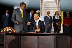 CIMEDIA TV: Obama Praises Kenya's President Uhuru Kenyatta For...
