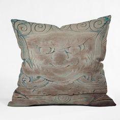 Catherine McDonald The Dragon Throw Pillow