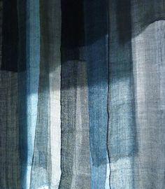 kaya   japanese indigo dyed hemp