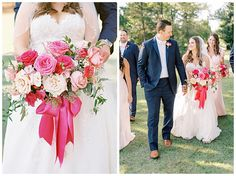 This bride LOVED her pink and it looked stunning!! Ross Bridge Golf Resort & Spa | Alabama Wedding | Birmingham Wedding Planner | Becky's Brides Wedding Bride, Wedding Day, Hot Pink Roses, What A Beautiful Day, Bride Photography, Bride Bouquets, Bridesmaid Dresses, Wedding Dresses, Blush Color