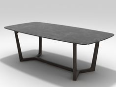 Poliform concorde table for my dining 218x108x74, comes with a glossy marble top - white/black/brown  Will opt for the brown top with walnut stand