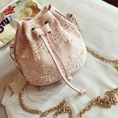 Fashion Women Backpacks Lace Bags Drawstring Single Shoulder Bag sold by Discounted Products. Shop more products from Discounted Products on Storenvy, the home of independent small businesses all over the world.