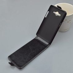 For Samsung Galaxy Core 2 Dual SIM G355H SM-G355H G355 G3559 Case Vertical Magnetic Phone Bag