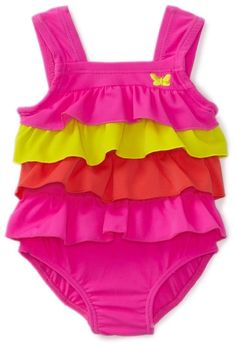 Amazon.com: Carter's Baby-Girls Newborn 1 Piece Swimsuit, Pink, 6-9 Months: Clothing