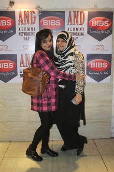 Buddies from 2013-2015 Batch-Rhea Chakraborty & Farha Jahan