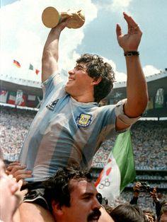 #WorldCup #Maradona football 1986 | Flickr - Photo Sharing!