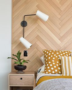 "141 Likes, 4 Comments - Raili Clasen (@raili_ca_design) on Instagram: ""It's all the rage! Flooring +wall = headboard. #railicadesign #masterbedroom #ericolsendesign …"""