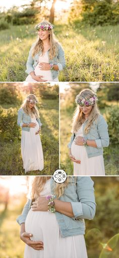 Baby bellydancer with flower wreath - Bellyshooting - Outdoor Maternity Shooting -. - Baby bellydancer with flower wreath - Bellyshooting - Outdoor Maternity Shooting -.