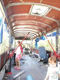 thomas bus conversion roof raise