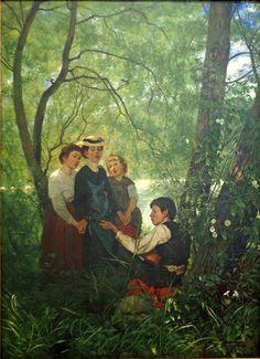 Singing by Hans Thoma 188