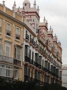 Torres mirador, plaza de España, Cádiz, Andalucía
