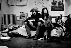 Shepard and Patti Smith in a performance of their play Cowboy Mouth in 1971. Photograph: Gerard Malanga