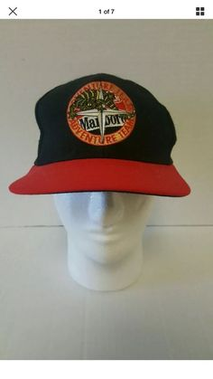 Vintage Marlboro Racing Team Snapback Hat Adventure Team Cap Black  | eBay