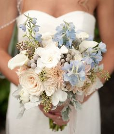 Featured Photo: Stephanie A. Smith Photography; 20 Ultra Gorgeous Bridal Bouquets. To see more: http://www.modwedding.com/2014/01/15/20-ultra-gorgeous-wedding-bouquets/ #wedding #weddings