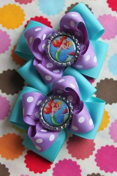 Little Mermaid, I'm in need of double sets because Em is obsessed with pigtails and bows!