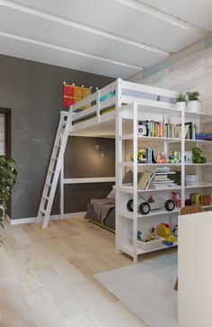 Certainly, everyone will need Amazing Home design to decorate their Home. If you would, you may check 2 Modern Design Of Bunk Beds Which Is Suitable For Kids to help you find out Amazing Home based on your favorite. Boys Loft Beds, Kid Beds, Room Design Bedroom, Diy Bedroom Decor, Teen Room Designs, Custom Bunk Beds, Loft Bed Plans, Bunk Bed Designs, Awesome Bedrooms