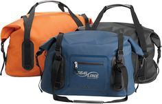 SealLine WideMouth™ Duffle  80 liter    Can use D-clips to attach pack to front of other packs with carabiners.
