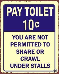 Dime Toilet