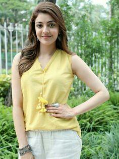 Kajal Aggerwal South Actress, South Indian Actress, Beautiful Indian Actress, Beautiful Actresses, Indiana, Kajal, Girl Poses, Celebs, Celebrities