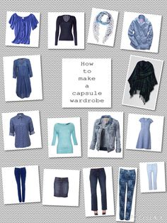 66 Item Challenge: Blue, in its many forms from navy and indigo to powder and periwinkle, works as a neutral in a capsule wardrobe. It pairs beautifully with the neutrals black, white and grey, but also with all colours, as long as you get the shade/tone right.