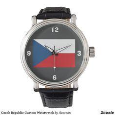 Czech Republic Custom Wristwatch