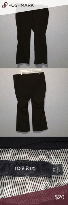 Torrid 16 Short Dress Pants Torrid dress pants. 16S. In new condition. torrid Pants Trousers