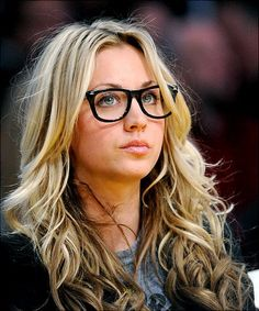 Come on, the woman looks even more amazing in glasses!