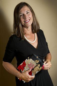 Judy Cameron imports Japanese silk obis (sashes worn with kimonos) and turns them into delightful evening clutches. Photos by Wayne Cuddington, The Ottawa Citizen.