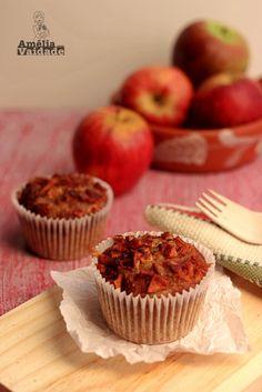 Muffin - Cupcake de Maçã com Especiarias