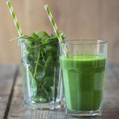 We're spending the weekend testing these 10 Smoothies For Pretty Skin...sip and glow! #ANEWyou #GreenSmoothieForSkin