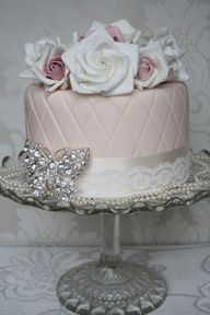 If your not good at decorating cakes props are great, an inexpensive and effective way to make a cake look expensive.  Use something personal to you or buy new x