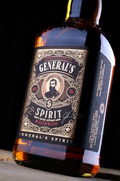 Design Studio 43'oz - General's Spirit PACKAGING DESIGN World Packaging Design Society│Home of Packaging Design│Branding│Brand Design│CPG Design│FMCG Design