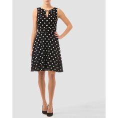 Joseph Ribkoff dress ($195) ❤ liked on Polyvore featuring dresses, zipper back dress, joseph ribkoff dresses and joseph ribkoff