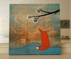 fox and the marshmallows mounted
