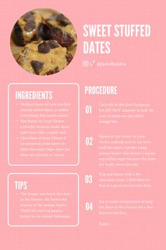 These three-ingredient sweet stuffed dates are the perfect dessert for valentine's day or any time you are craving sweets! Make and store these for your meal prep, weight loss goals, or just because. Be sure to follow fueledbydebra.com for recipes, exercise ideas, and more! Valentine Desserts, Easy Desserts, Stuffed Dates, Craving Sweets, Medjool Dates, Nut Butter, 3 Ingredients, Meal Prep, Cravings