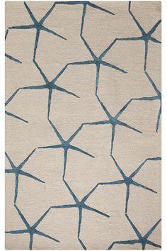 Sea Star Area Rug - Blended Rugs - Hand-tufted Rugs - Area Rugs - Rugs   HomeDecorators.com
