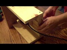 Pt 4 of 4 How to Build a Router Table for Your Dremel Tool - YouTube
