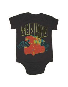 The Who Magic Bus Infant One-Piece Bodysuit - Guaranteed Authentic.  Fast Shipping.