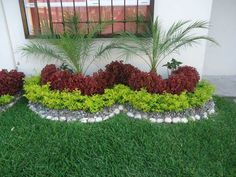 Create beautiful front yard and backyard landscapes with our gardening ideas. We… - All For Garden Florida Landscaping, Front Yard Landscaping, Landscaping Ideas, Small Gardens, Outdoor Gardens, Ideas Para Decorar Jardines, Garden Deco, Small Garden Design, Small Garden Layout