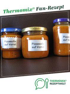 Pizzasoße  auf Vorrat                                                     Rezept des Tages 30.09.2014 von Tina 1964. Ein Thermomix ® Rezept aus der Kategorie Saucen/Dips/Brotaufstriche auf www.rezeptwelt.de, der Thermomix ® Community.