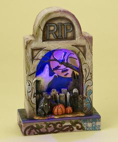 Take a look at this Spooky Graveyard Figurine by Jim Shore on #zulily today!
