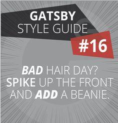 #gatsbysa #hair #style #guide #badhairday #16 #hairwax