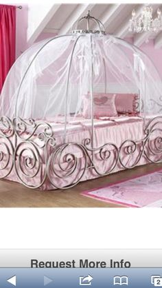 Carriage bed! If we have a girl someday this is happening!