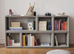 Plus Concrete Modular Storage Solution — FURNISHINGS -- Better Living Through Design