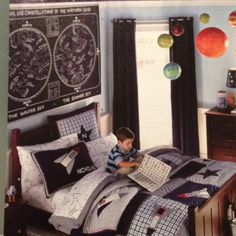 Space bedroom constellations
