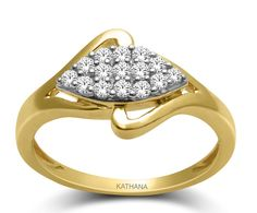Get cosy with Kathana to buy the diamond rings.