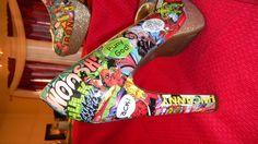 Marvel Heels... my dream shoes